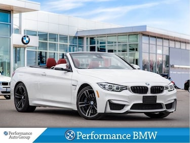 2018 BMW M4 NAVI. HTD SEATS. PARK ASSIST. TRANSMISSION Convertible