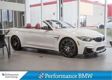2018 BMW M4 MANUAL TRANSMISSION! Cabriolet