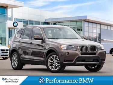 2013 BMW X3 xDrive28i. NAVI. HTD SEATS. HTD STEERING. ROOF SUV