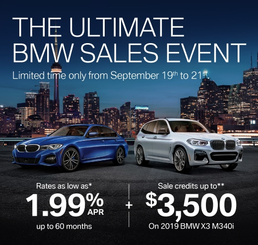 The Ultimate BMW Sales Event