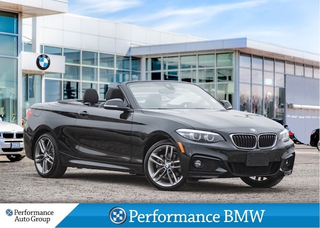 2019 BMW 230i xDrive. NAVI. HTD STEERING. LEATHER. DEMO UNIT Cabriolet