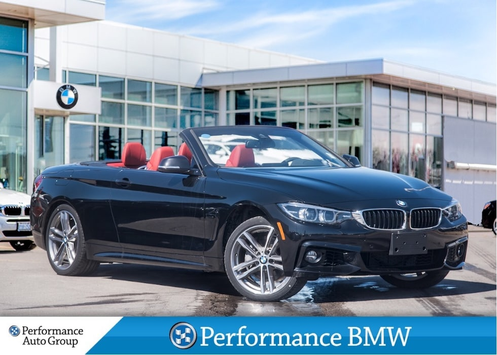 2018 BMW 440i xDrive. NAVI. CAMERA. HEAD-UP DISPLAY. DEMO UNIT Cabriolet