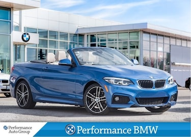 2018 BMW 230i xDrive - FINANCE AS LOW AS 0.99% OAC! Cabriolet