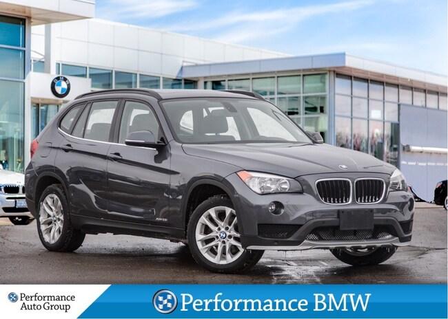 2015 BMW X1 xDrive28i. NAVI. HTD SEATS. ROOF. BLUETOOTH SAV