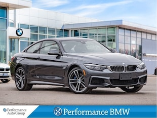 2019 BMW 4 Series 440i xDrive. M-PERF. II-LOADED DEMO-FROM 0.99% OAC Coupe