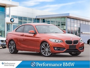 2014 BMW 228i NAVI. CAMERA. HTD SEATS. HTD STEERING WHEEL Coupe