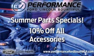 Summer Parts Specials!