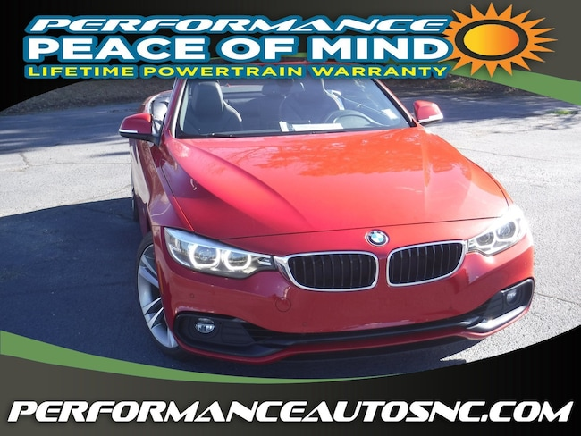 Used 2018 BMW 430i Convertible near Fayetteville