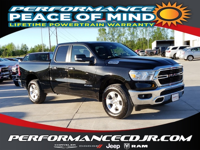 New 2019 Ram 1500 BIG HORN / LONE STAR QUAD CAB 4X4 6'4 BOX Quad Cab near Fayetteville
