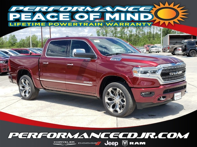 New 2019 Ram 1500 LIMITED CREW CAB 4X4 5'7 BOX Crew Cab near Fayetteville