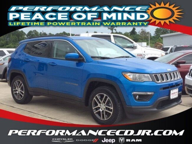 New 2019 Jeep Compass SUN & WHEEL FWD Sport Utility near Fayetteville