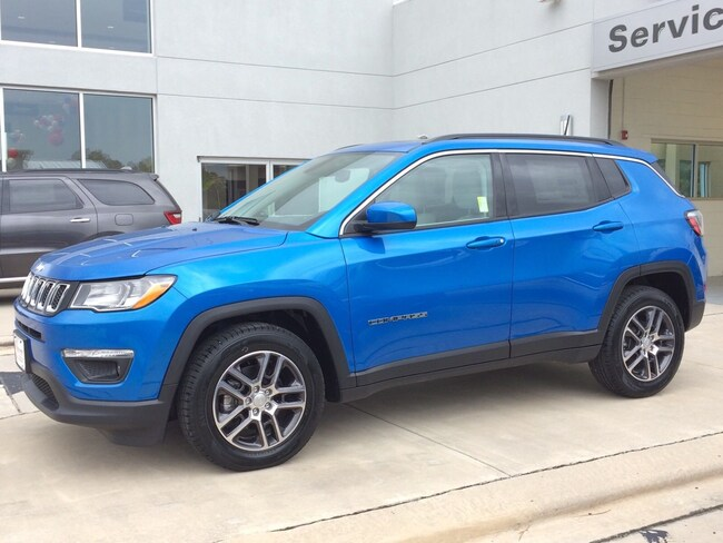 New 2019 Jeep Compass Laser Blue Pearlcoat For Sale in ...