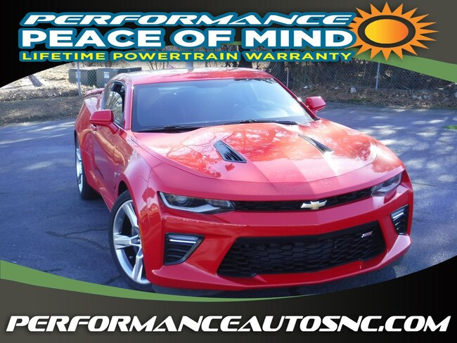 Used 2018 Chevrolet Camaro 1SS Coupe near Fayetteville