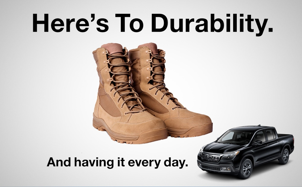 Here's to Durability
