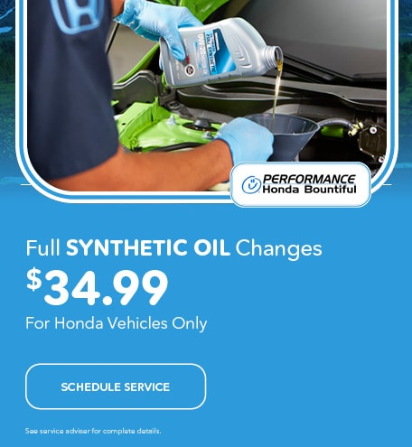 Full Synthetic Oil Changes