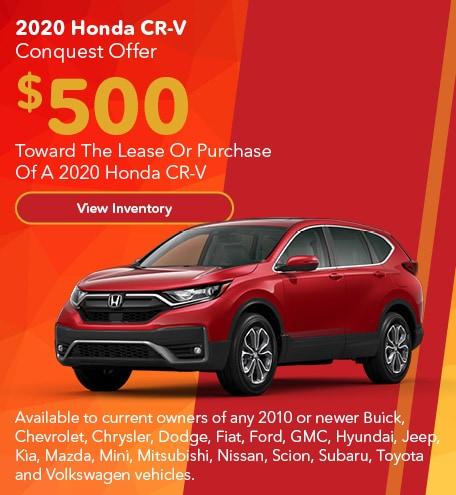 2020 Honda CR-V Conquest Offer