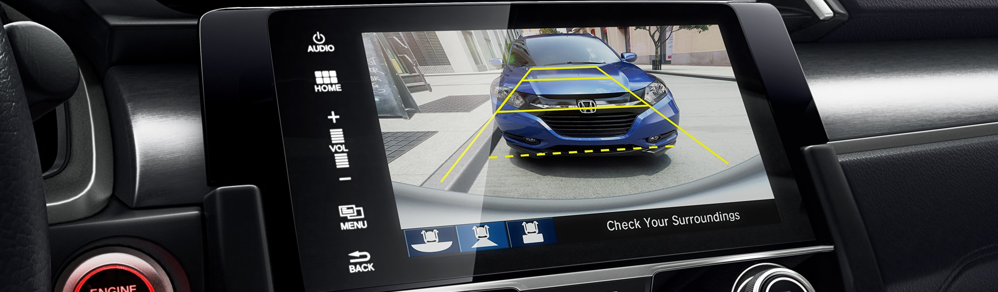 Rearview Camera Available on the new Honda Civic