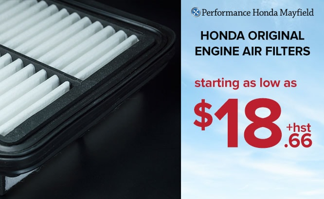 Honda Original Air Filters