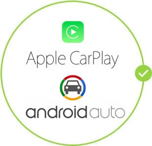 Android Auto and Apple CarPlay are standard on the Honda CR-V