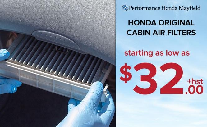 Honda Original Cabin Air Filters