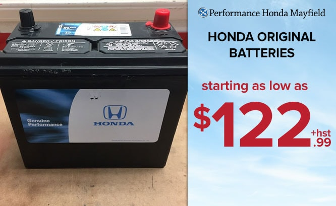 Honda Original Batteries