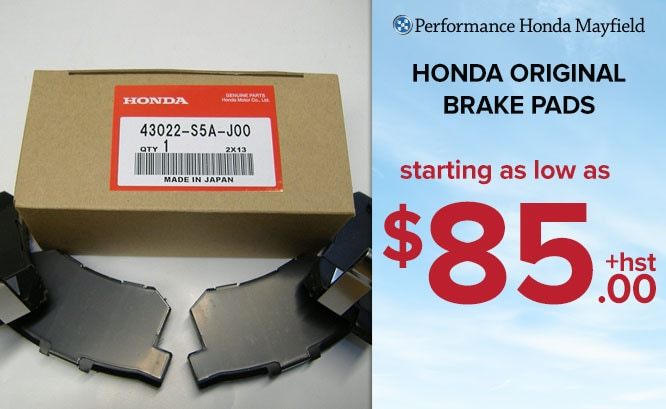Honda Original Brake Pads