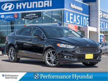 2016 Ford Fusion Titanium | BLUETOOTH | SUNROOF | LEATHER Sedan