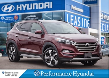2017 Hyundai Tucson Limited 1.6T | AWD | LEATHER | SOLD PENDING SUV