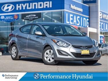 2016 Hyundai Elantra L | LOW KM | GREAT VALUE | LOCAL VEHICLE Sedan