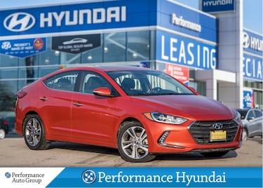 2017 Hyundai Elantra Limited   LOW KM   LEATHER Sedan