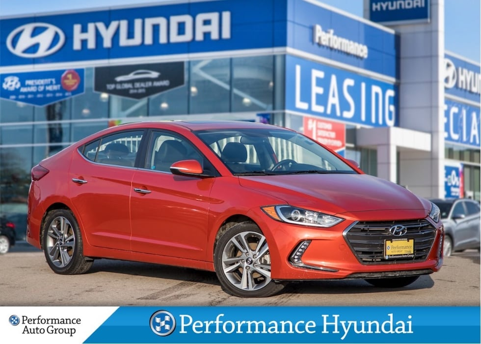 2017 Hyundai Elantra Limited | LOW KM | LEATHER Sedan
