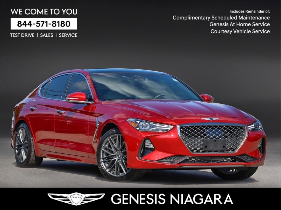 2019 Genesis G70 2.0T Elite | WINTER TIRE PKG | LEATHER Sedan