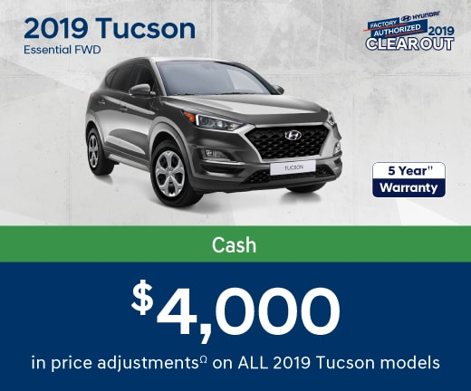 2019 Tucson Special Offer