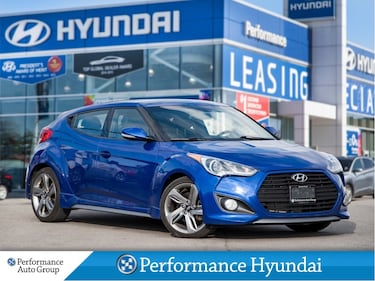 2013 Hyundai Veloster Turbo | WINTER TIRE PACKAGE | NAVI | LEATHER Hatchback