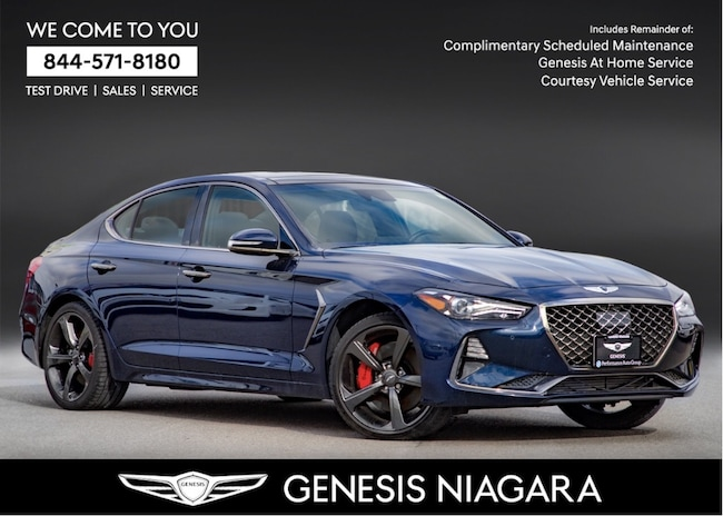 2019 Genesis G70 3.3T SPORT |NAVI|AWD|HTD SEATS|FULLY LOADED Sedan