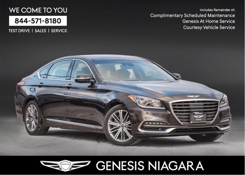 2018 Genesis G80 3.8 Technology |LEATHER | NAVI | AWD  | PANOROOF Sedan