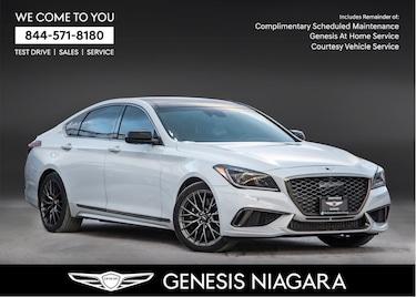 2018 Genesis G80 3.3T Sport |NAVI|LEATHER|ALLOYS|MOONROOF Sedan