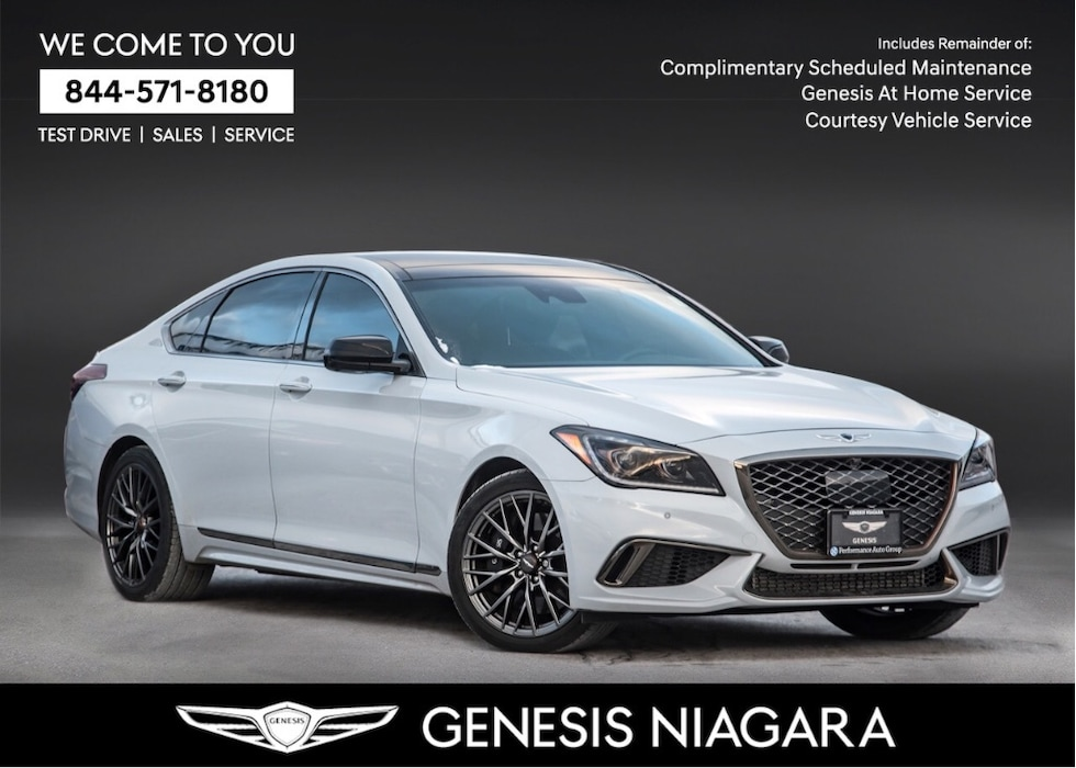 2018 Genesis G80 3.3T Sport  NAVI LEATHER ALLOYS MOONROOF Sedan