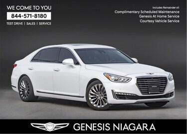 2017 Genesis G90 5.0 Ultimate  LEATHER NAVI AWD HTD SEATS Sedan