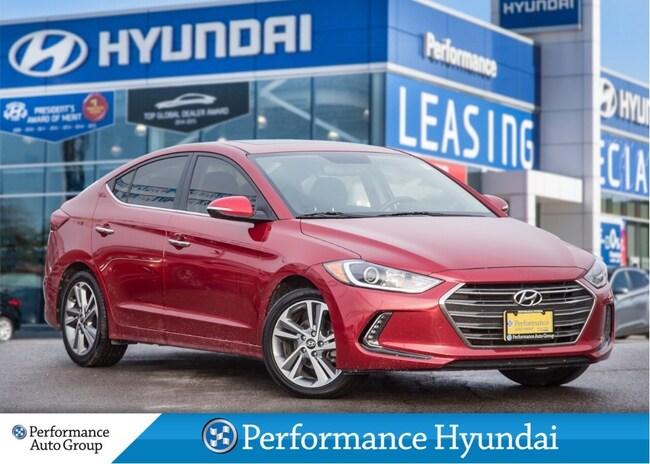 2017 Hyundai Elantra Limited   NAVIGATION   LEATHER Sedan