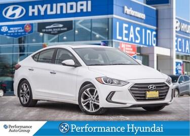 2017 Hyundai Elantra Limited | LEATHER | LOW KM | FULLY LOADED Sedan