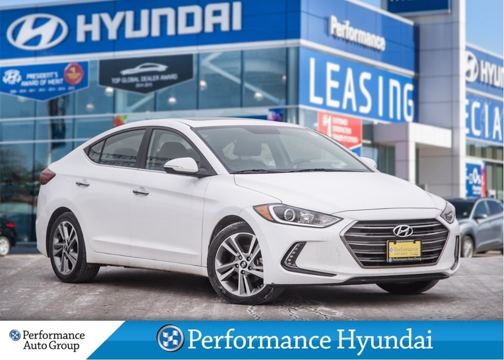 2017 Hyundai Elantra Limited | LEATHER | LOW KM | FULLY LOADED Sedan