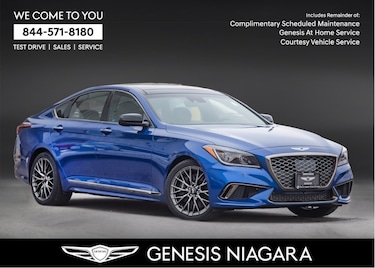 2018 Genesis G80 3.3T SPORT |NAVI|PANO ROOF|AWD|LEATHER Sedan