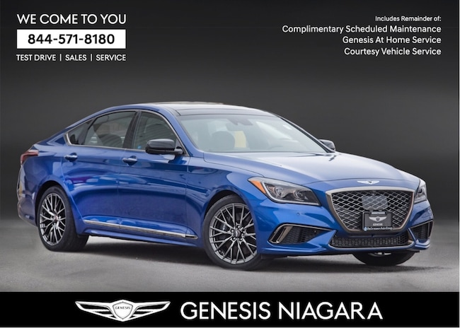 2018 Genesis G80 3.3T SPORT |NAVI|PANO ROOF|AWD|LEATHER Sedan
