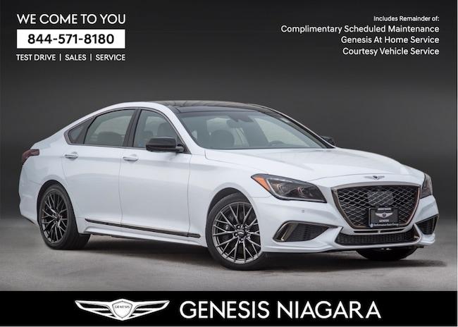 2018 Genesis G80 3.3T SPORT |NAVI|AWD|REAR VIEW CAM|LEATHER Sedan