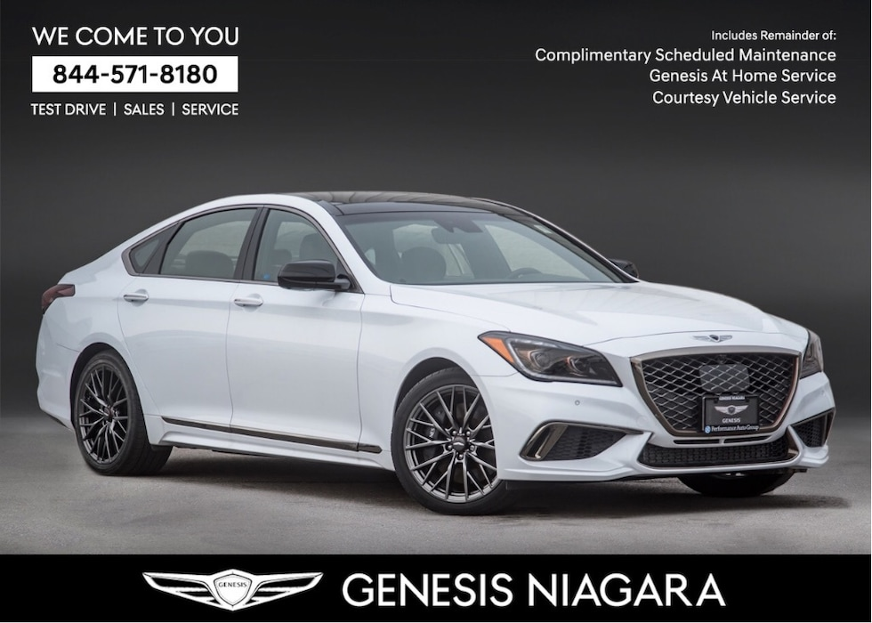 2018 Genesis G80 3.3T SPORT |NAVI|AWD|REAR VIEW CAM|LEATHER Sedan