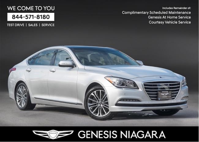 2017 Genesis G80 3.8 Technology |NAVI|LEATHER|ALLOYS|AWD Sedan