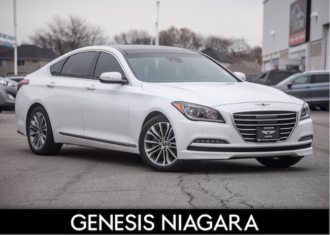 2017 Genesis G80 3.8L LUXURY |LEATHER|NAVIGATION Sedan