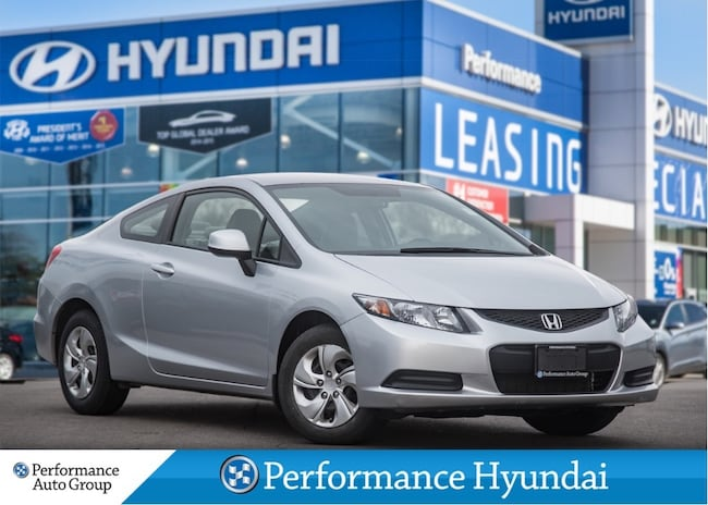 2013 Honda Civic Coupe LX | WINTER TIRE PACKAGE |LOW KM Coupe