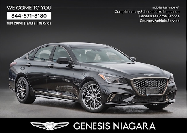 2018 Genesis G80 3.3T SPORT NAVI|AWD|LEATHER|FULLY LOADED Sedan